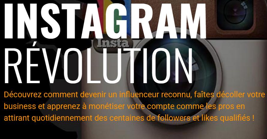 Gagner de l'argent sur le web avec Instagram